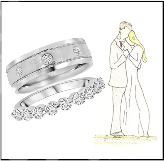 Perfect Diamond Wedding Bands Collection