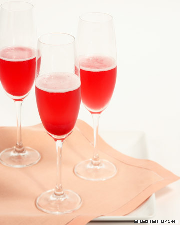Red Currant Champagne Cocktail: This bright and cheery cocktail is just as delicious as it looks.