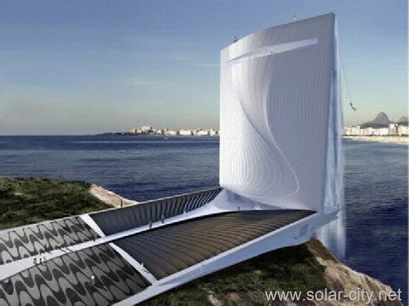 tower solar city