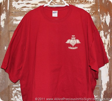 orphan cross gear red tee 001