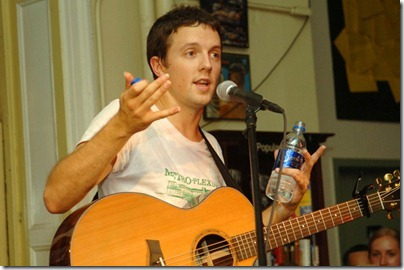 Jason Mraz - 2005- Performance At Housing Works Bookstore Cafe