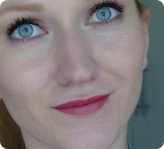 Cosline Lippenstift Tragebild