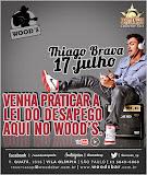 Thiago Brava no Wood's Bar em São Paulo