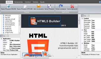 HTML5 Builder 2013