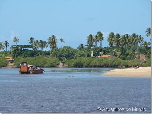 Balsa Praia Porto de Pedras Alagoas Brasil
