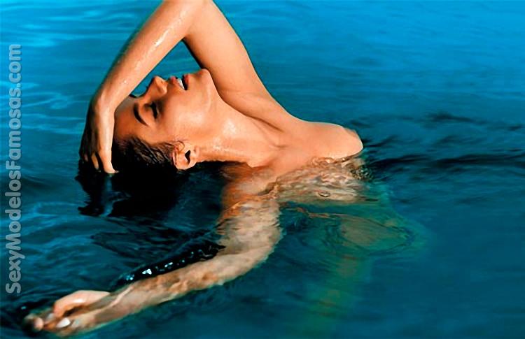 Ana Lucia Dominguez Desnuda Para La Revista Interviu Sey Modelos