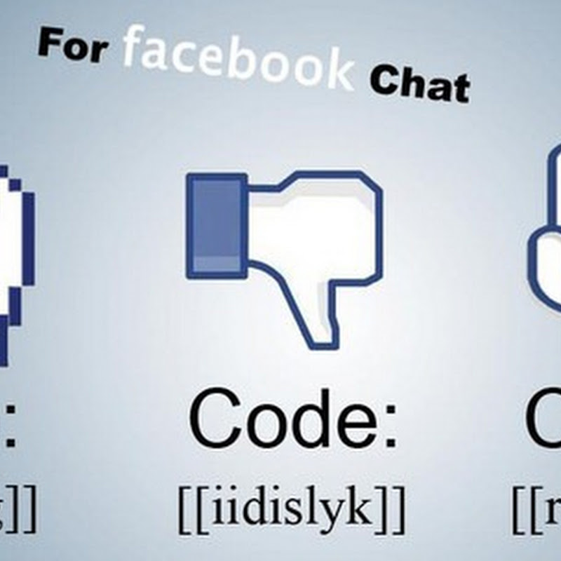 MidFinger, Dislike Hand & Rock Sign Facebook Chat Emoticons