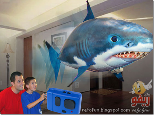The-Air-Swimmer-Remote-Control-Shark-is-Hilarious refofun