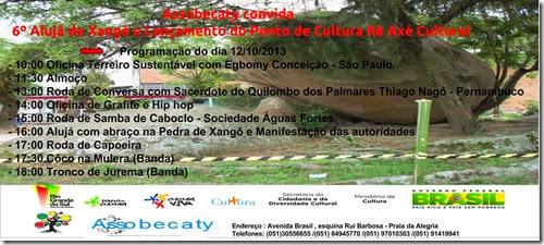 Convite Oficial do Ponto de Cultura