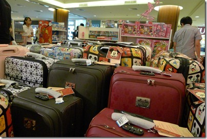 Mickey Mouse luggage fair