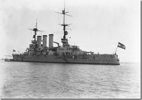 Navios Alemães no Tejo (1927).6