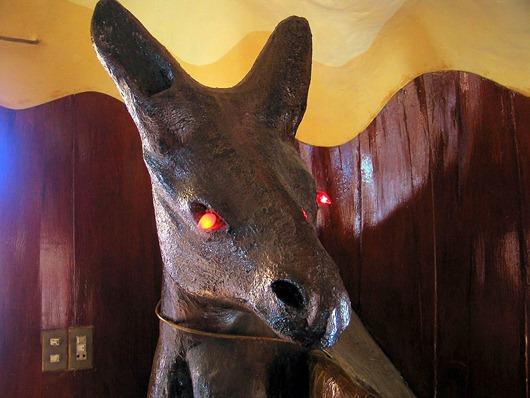 Evil kangaroo