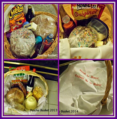 Pascha Basket Collage