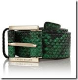 Karen Millen Snake Print Belt