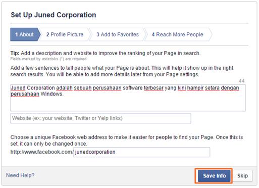 Cara Membuat Halaman FanPage Facebook 06