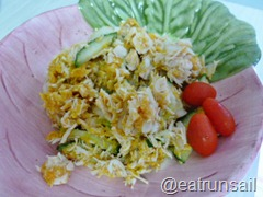 Jan 4 Sweet Potato and Chicken Salad 001