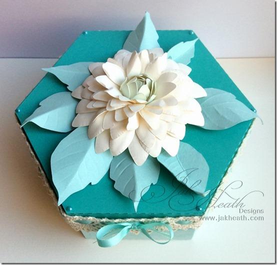Hexagon Box and flower2
