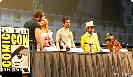CC Sunny Cast Full Standing