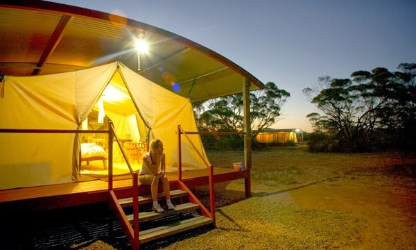 best australian glamping camps