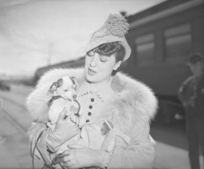 Gypsy Rose Lee AND friend 1937