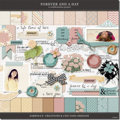 forever and a day kit sabrina creations che yang