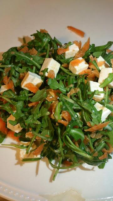 Salade met wortel en feta