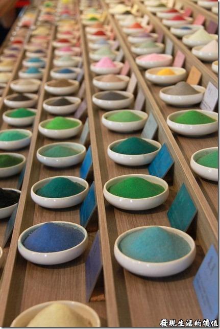 台南夕遊出張所-366生日彩鹽展示台