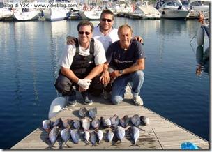 Michele, Max, Paolo e i Tonni