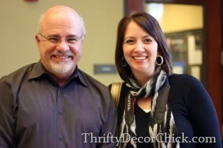 dave ramsey thrifty decor chick