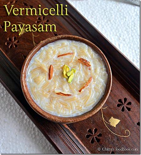 Vermicelli - payasam