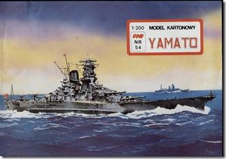 eBook - Battleship Yamato Papercraft