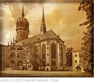 'Schlosskirche Wittenberg' photo (c) 2010, Harald Henkel - license: http://creativecommons.org/licenses/by-nd/2.0/