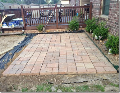 (3) Patio DIY