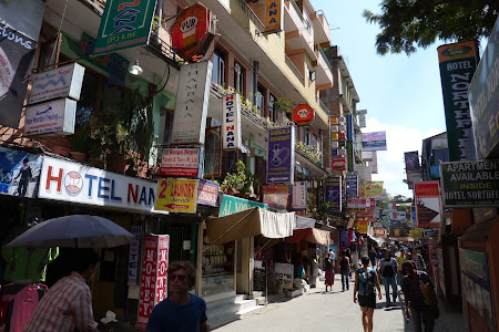 Thamel, cartier turisti straini in Nepal