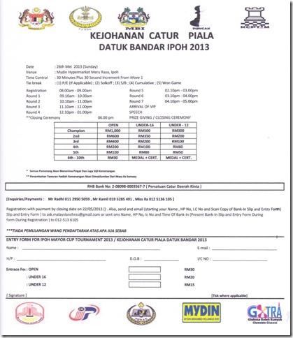 RegistrationForm-Mydin2013ipoh