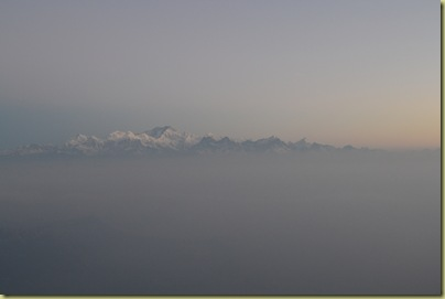 Kangchenjunga in the pre dawn