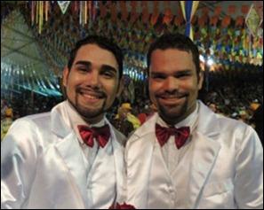 casamento gay festa junina