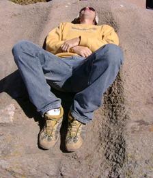 Foto jacu em Tiwanacu