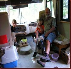 2013.06.02 Owen, Logan, Grampa