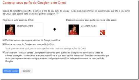 integrar G  no Orkut 2