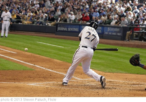 'Carlos Gomez - #27' photo (c) 2013, Steven Paluch - license: https://creativecommons.org/licenses/by/2.0/