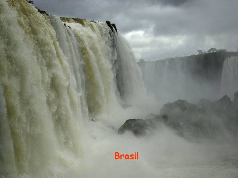 Worlds Most Beautifil Borders ARGENTINA, PARAGUAY and BRASIL