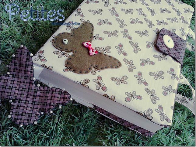 Capa para livros de borboleta 02
