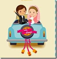 dibujos divertidos coches de boda (14)