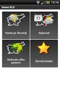 Screenshot of Vreme SLO