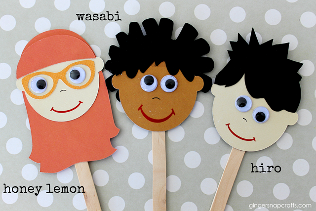 finger puppets #disney #kidcrafts