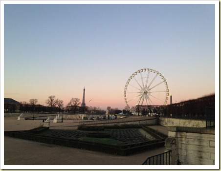 morning at tuileries
