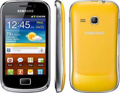 Daftar harga Hp Samsung per bulan September 2012