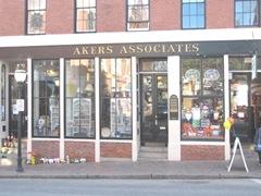 11.2011 Maine Portland Akers Associates sign