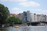 Gehry's controversial Dancing House (nicknamed Fred and Ginger)